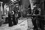 Daily life in Old City of Jerusalem