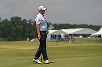 Marc Leishman (AUS) looks over his putt on 10 during round 3 of the AT&amp;T Byron Nelson, Trinity Forest Golf Club, at Dallas, Texas, USA. 5/19/2018.<br /> Picture: Golffile | Ken Murray<br /> <br /> <br /> All photo usage must carry mandatory copyright credit (&copy; Golffile | Ken Murray)