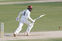 Ryan Patel of Surrey in batting action during Essex CCC vs Surrey CCC, Bob Willis Trophy Cricket at The Cloudfm County Ground on 10th August 2020