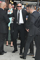 May 22, 2012 Pitbull at Late Show with David Letterman in New York City. © RW/MediaPunch Inc.