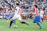 Atletico de Madrid's Stefan Savic and Sevilla's Carlos Joaquin Correa during La Liga match between Atletico de Madrid and Sevilla CF at Vicente Calderon Stadium in Madrid, Spain. March 19, 2017. (ALTERPHOTOS/BorjaB.Hojas)