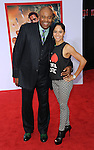 "Chi McBride and date at the premiere of Marvel's ""Iron Man 3"" at the El Capitan Theatre Los Angeles, CA. April 24, 2013"