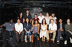 """One Life To Live Florencia Lozano """"Tea Delgado"""" participates in a play reading of Fuente Ovejuna by Cusi Cram on September 22, 2011 at The Bank Street Theater, New York City, New York. L to R front: Craig muMs Grant, Jinn S. Kim, Cusi Cram, Paula Pizzi, Florencia, Charles Aitken, Joel de la Fuente (AMC), Kelley Rae O'Donnell - Back: narrator, Quentin Mare, Suzanne Agins (director), Richard Petrocelli, Lyle Friedman, Joselin Reyes, David Ross (missing)  (Photo by Sue Coflin/Max Photos)"""