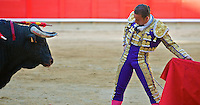 Bullfight in Barcelona