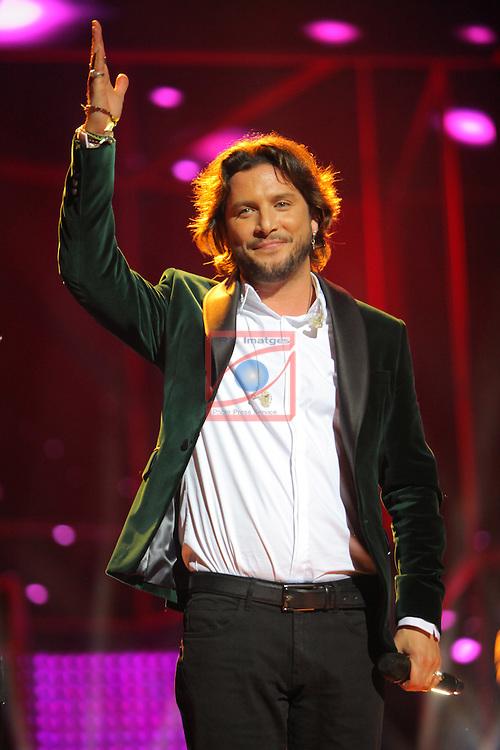 63 Premios Ondas.<br /> Gala de Entrega de los premios.<br /> Manuel Carrasco.