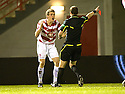 12/01/2011   Copyright  Pic : James Stewart.sct_jsp013_hamilton_v_celtic  .::  JIM MCALISTER IS SENT OFF ::.James Stewart Photography 19 Carronlea Drive, Falkirk. FK2 8DN      Vat Reg No. 607 6932 25.Telephone      : +44 (0)1324 570291 .Mobile              : +44 (0)7721 416997.E-mail  :  jim@jspa.co.uk.If you require further information then contact Jim Stewart on any of the numbers above.........