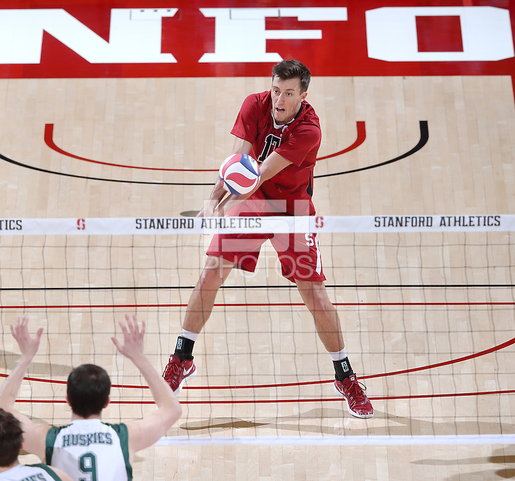 Stanford, CA; Tuesday December 29, 2015; Men's Volleyball, Stanford vs University of Saskatchewan.