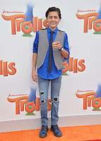 LOS ANGELES, CA. October 23, 2016: Actor Isaak Presley at the Los Angeles premiere of &quot;Trolls&quot; at the Regency Village Theatre, Westwood.<br /> Picture: Paul Smith/Featureflash/SilverHub 0208 004 5359/ 07711 972644 Editors@silverhubmedia.com