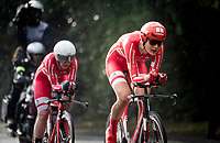 Danish Team<br /> Team Time Trial Mixed  Relay<br /> <br /> 2019 Road World Championships Yorkshire (GBR)<br /> <br /> ©kramon