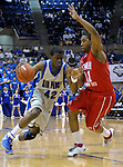 09 February 2008  Air Force forward, Anwar Johnson (42)  drives for the basket during the Falcon's 67-59 loss to the Runnin' Utes at Clune Arena, Air Force Academy, Colorado Springs, Colorado.