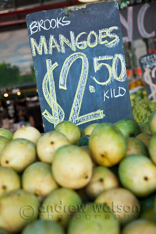 Fresh fruit at Rusty's Markets.  Cairns, Queensland, Australia