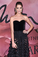 Ana Beatriz Barros<br /> at the Fashion Awards 2016, Royal Albert Hall, London.<br /> <br /> <br /> &copy;Ash Knotek  D3210  05/12/2016