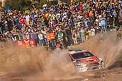 8th June 2017, Alghero, West Coast of Sardinia, Italy; WRC Rally of Sardina;  Katsouta
