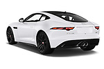 Car pictures of rear three quarter view of 2019 Jaguar F-Type R-Dynamic 2 Door Coupe Angular Rear