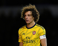 David Luiz of Arsenal during Portsmouth vs Arsenal, Emirates FA Cup Football at Fratton Park on 2nd March 2020