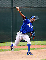 Geronimo Batista / Kansas City Royals 2008 Instructional League..Photo by:  Bill Mitchell/Four Seam Images