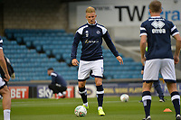 Millwalls Byron Webster warms up during Millwall vs Stevenage, Caraboa Cup Football at The Den on 8th August 2017
