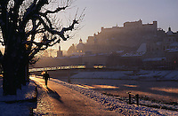 an der Salzach, Festung in  Salzburg, Österreich, Unesco-Weltkulturerbe
