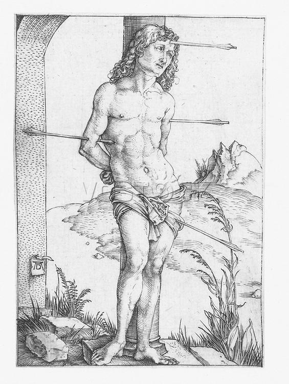 Saint Sebastian, Albrecht Dürer, 1497 - 1501