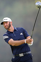 02/15/14 Pacific Palisades, CA: Dustin Johnson during the third round of the Northern Trust Open held at the Riviera Country Club.