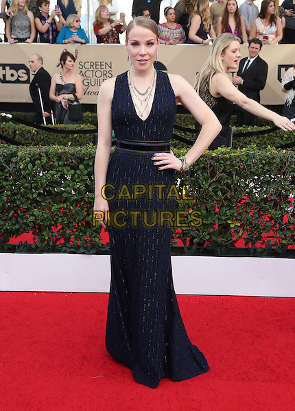 29 January 2017 - Los Angeles, California - Emma Myles. 23rd Annual Screen Actors Guild Awards held at The Shrine Expo Hall. <br /> CAP/ADM/FS<br /> &copy;FS/ADM/Capital Pictures