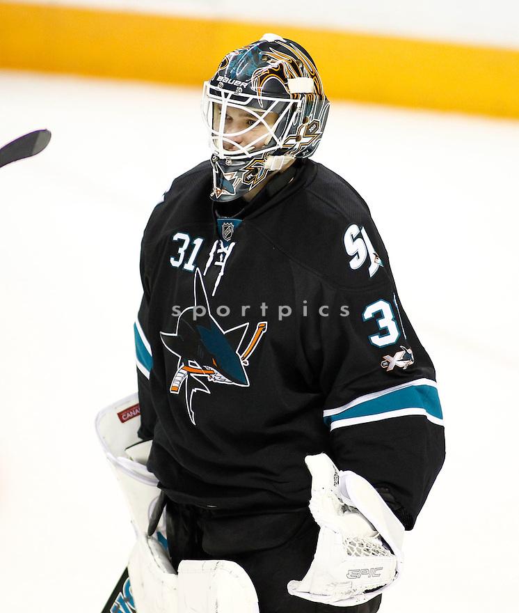 ANTTI NIEMI, of the San Jose Sharks.
