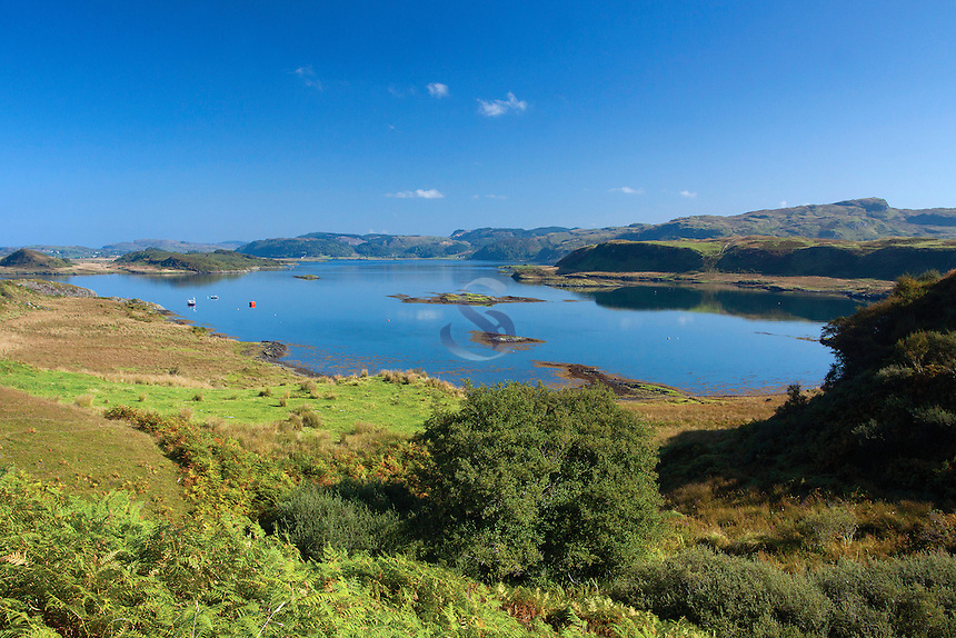 The Cuan Sound and Torsa from Luing, Argyll & Bute