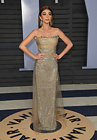 04 March 2018 - Los Angeles, California - Sarah Hyland. 2018 Vanity Fair Oscar Party hosted following the 90th Academy Awards held at the Wallis Annenberg Center for the Performing Arts. <br /> CAP/ADM/BT<br /> &copy;BT/ADM/Capital Pictures