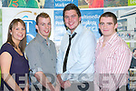 AWARDS: At the ITT Sports and Academic Scholarships Awards receiving their scholarship in the north campus on Thursday l-r: Alva Neary (ITT Ladies Football Scholarship), Lee Bradley (ITT Boxing Scholarship), Jono Clifford (President Students Union) and Cathal O'Reilly (ITT Rugby Scholarship).   Copyright Kerry's Eye 2008