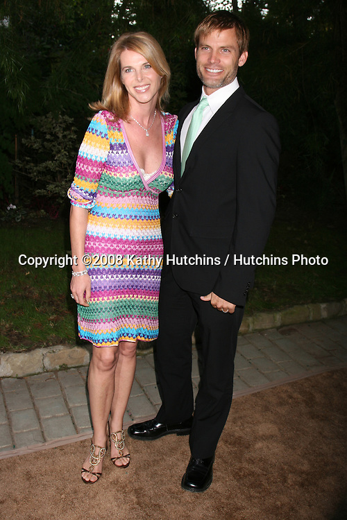 """Catherine Oxenberg & Casper Van Dien arriving at the """"YES! on Prop 2 Campaign"""" to stop Animal Cruelty.at a private estate in .BelAir, CA on.September 28, 2008.©2008 Kathy Hutchins / Hutchins Photo...."""