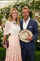 Ben Fogle and wife at the Chelsea Flower Show 2018, London, UK. <br /> 21 May  2018<br /> Picture: Steve Vas/Featureflash/SilverHub 0208 004 5359 sales@silverhubmedia.com