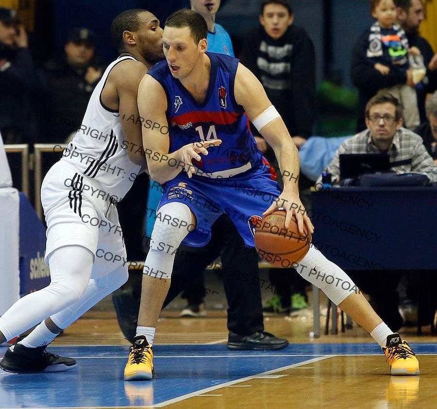 Ivan Radenovic Aba regionalna liga Partizan - Igokea 27.12.1015. December 27. 2015. (credit image & photo: Pedja Milosavljevic / STARSPORT)