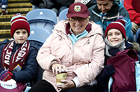 Burnley fans in high spirits ahead of kick-off <br /> <br /> Photographer Rich Linley/CameraSport<br /> <br /> The Premier League - Burnley v Everton - Wednesday 26th December 2018 - Turf Moor - Burnley<br /> <br /> World Copyright &copy; 2018 CameraSport. All rights reserved. 43 Linden Ave. Countesthorpe. Leicester. England. LE8 5PG - Tel: +44 (0) 116 277 4147 - admin@camerasport.com - www.camerasport.com