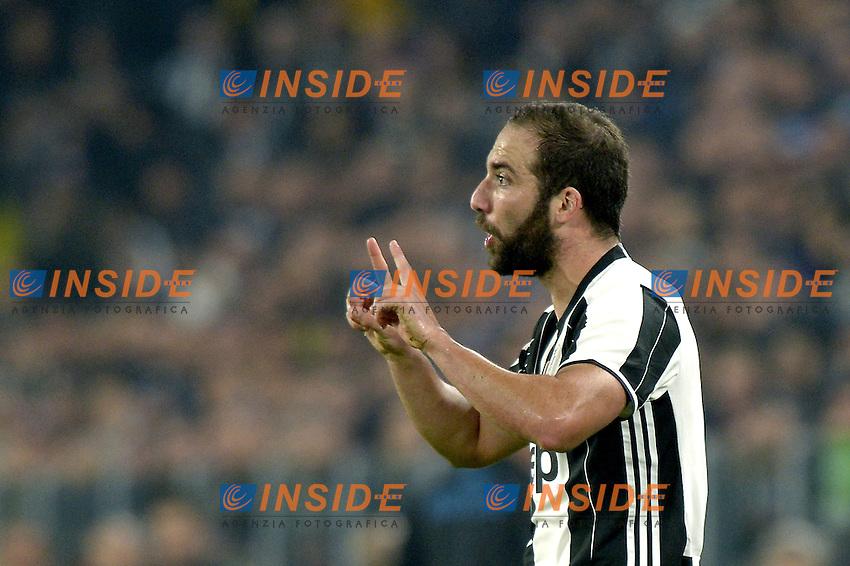 Gonzalo Higuain Juventus,<br /> Torino 29-10-2016, Juventus Stadium, Football Calcio 2016/2017 Serie A, Juventus - Napoli, Foto Filippo Alfero/Insidefoto