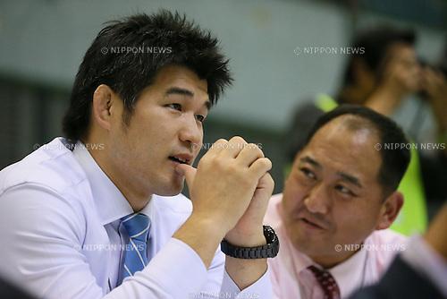 (L to R) <br />  Kosei Inoue, <br /> Hitoshi Saito, <br /> NOVEMBER 10, 2013 - Judo : <br /> Kodokan Cup 2013 <br /> at Chiba Port Arena, Chiba, Japan. <br /> (Photo by YUTAKA/AFLO SPORT)