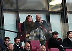 West Ham's Karen Brady watches on despite receiving abuse from the fans during the Premier League match at the London Stadium, London. Picture date November 5th, 2016 Pic David Klein/Sportimage