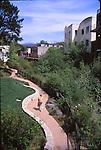 Trail along creek in downtown San Luis Obispo