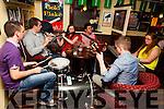Pub sessions on Saturday night in Matt McCoy's Bar.