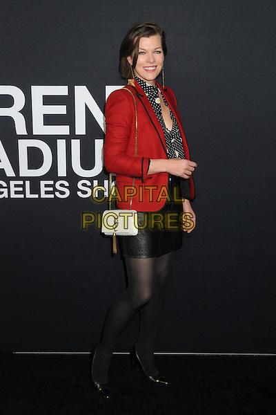 10 February 2016 - Los Angeles, California - Milla Jovovich. Saint Laurent At The Palladium held at the Hollywood Palladium. <br /> CAP/ADM/BP<br /> &copy;BP/ADM/Capital Pictures