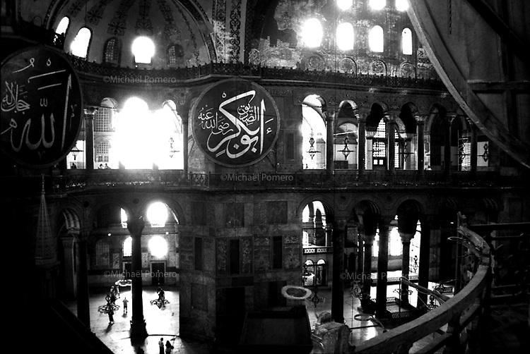 08.2002<br /> <br /> Istambul (Turkey)<br /> <br /> Basilique Sainte sophie.<br /> <br /> Santa sophia Basilica.