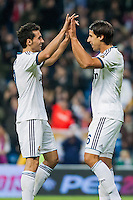 Khedira goal and greetings from Arbeloa