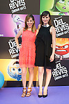 Natalia de Molina attends to the premiere of the film &quot;Inside Out ( Al Rev&eacute;s)&quot; at Callao Cinemas in Madrid, Spain. July 15, 2015.<br />  (ALTERPHOTOS/BorjaB.Hojas)