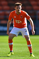 Blackpool's Oliver Turton in action<br /> <br /> Photographer Richard Martin-Roberts/CameraSport<br /> <br /> The EFL Sky Bet League One - Blackpool v Milton Keynes Dons - Saturday August 12th 2017 - Bloomfield Road - Blackpool<br /> <br /> World Copyright &copy; 2017 CameraSport. All rights reserved. 43 Linden Ave. Countesthorpe. Leicester. England. LE8 5PG - Tel: +44 (0) 116 277 4147 - admin@camerasport.com - www.camerasport.com