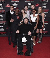"WEST HOLLYWOOD, CA - OCTOBER 13, 2016:  Staz Nair, Ben Vereen, Victoria Justice, Tim Curry, Ryan McCartan, Reeve Carney, Christina Milian and Ivy Levan at the red carpet premiere of Fox's ""The Rock Horror Picture Show: Lets Do the Time Warp Again"" at The Roxy on October 13, 2016 in West Hollywood, California. Credit: mpi991/MediaPunch"