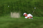 DES MOINES, IA - MAY 30: Mark Brooks hits out of a bunker on the 5th green during the first round of the Principal Charity Classic the Wakonda Club on May 30, 2014 in Des Moines, Iowa. (Photo by Steve Dykes/Getty Images) *** Local Caption *** Mark Brooks