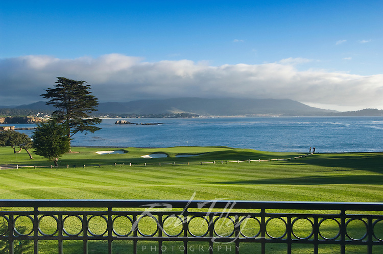 USA, CA, Carmel, Pebble Beach Golf Club