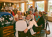August 22, 2014, Netherlands, Amstelveen, De Kegel, National Veterans Championships, clubhouse atmosphere<br /> Photo: Tennisimages/Henk Koster