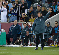 Colorado head coach Gary Smith. Real Salt Lake earned a tied versus the Colorado Rapids securing a place in the postseason. Dick's Sporting Goods Park, Denver, Colorado, October, 25, 2008. Photo by Trent Davol/isiphotos.com