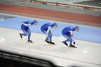 SPEEDSKATING: SALT LAKE CITY: 08-12-2017, Utah Olympic Oval, ISU World Cup, Team Pursuit Men, Team Norway (Norge), ©photo Martin de Jong