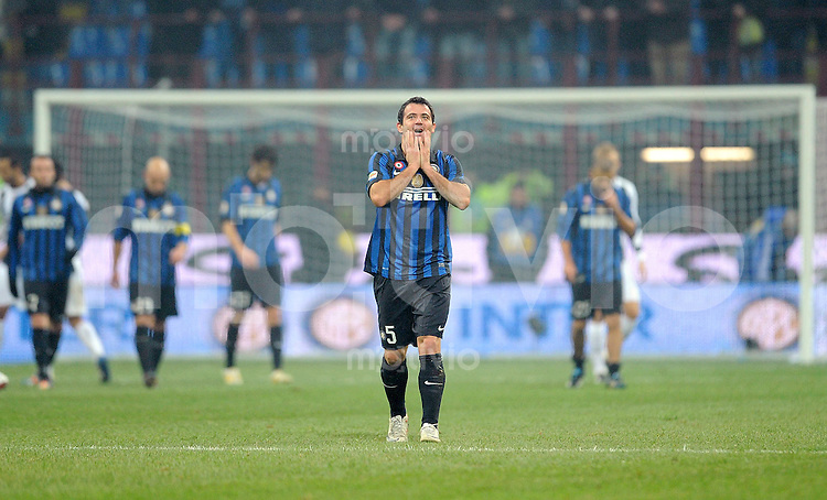 FUSSBALL INTERNATIONAL   SERIE A   SAISON 2011/2012    Inter Mailand - Udinese Calcio   03.12.2011 Dejan Stankovic (Inter Mailand)
